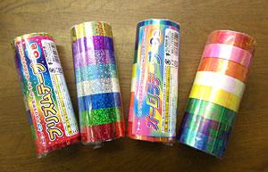 飾り用テープ